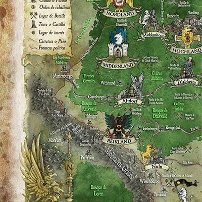 mapa del imperio, enemigo interior