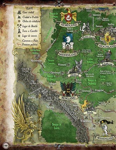 Mapa del Imperio (Del libro El Enemigo Interior)