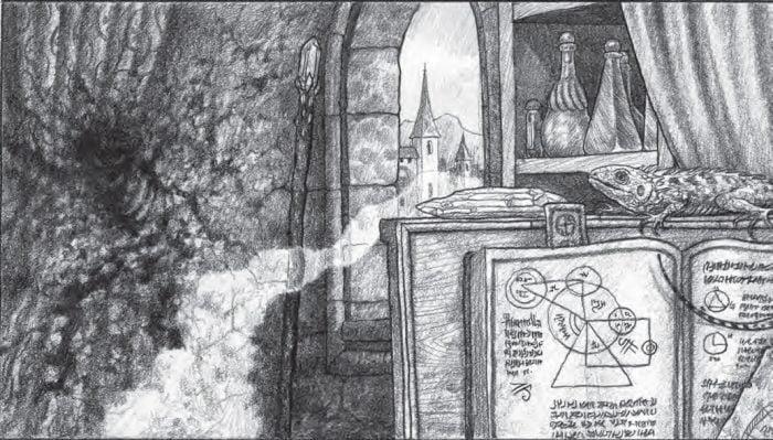 Aprendizaje de la magia en ZweihänderRPG
