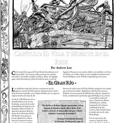 Warhammer Companion: Capítulos II,III, V y VI